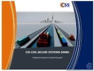 Der CSS Coil Carrier