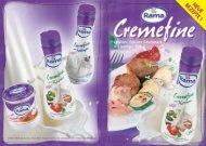Rama Cremefine Broschüre - bei Rama