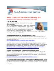 World Trade News and Events – February 2013 - Export.gov
