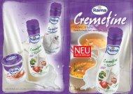 Leichter, frischer Geschmack mit weniger Fett NEU - bei Rama