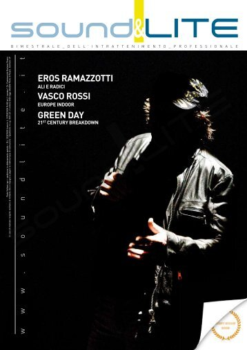 EROS RAMAZZOTTI VASCO ROSSI GREEN DAY - Sound and Lite