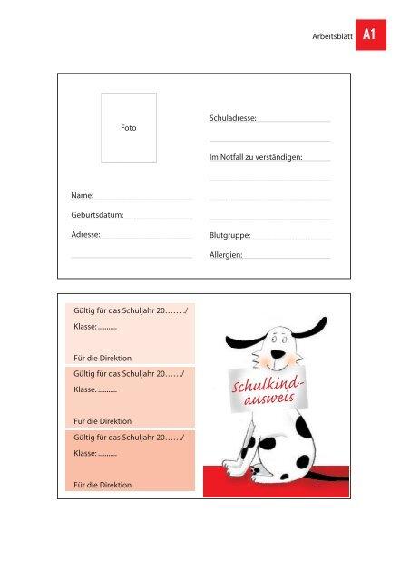 Begleitunterlagen für Lehrkfäfte - 1. Schulstufe - Schule.at