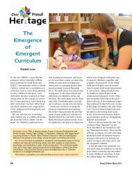 Emergent Curriculum - National Association for the Education of ...