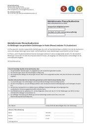 TV-Nutzung — Konzerte & Shows - Schweizerische ...