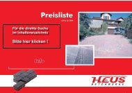 Preisliste - Dornburger Betonwerke GmbH
