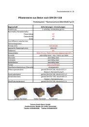 Pflastersteine aus Beton nach DIN EN 1338 - grafe beton