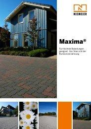 Maxima® - Pflastersteine von Niemeier