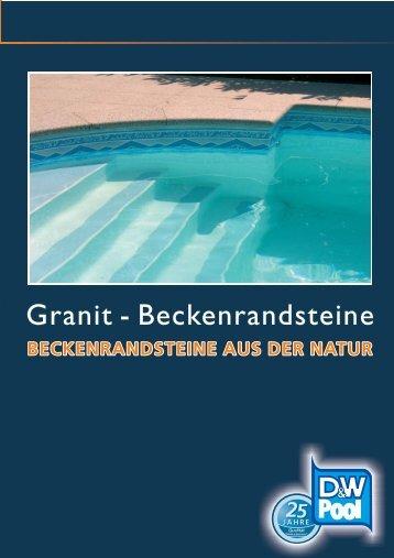 Granit - Beckenrandsteine - 123pool
