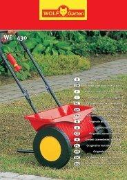 WE 430 - Wolf-Garten