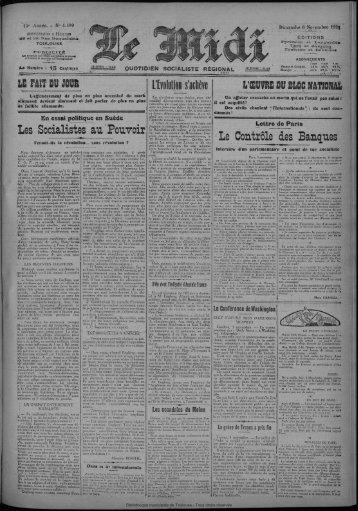 Le Socialistes . au Pouvoir - Bibliothèque de Toulouse