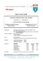 Objet : « Prix de Luxembourg, Souvenir Jozef Nowara ... - Nahouw