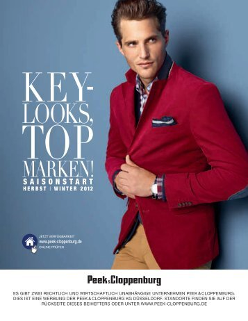 LOOKS, - Peek & Cloppenburg