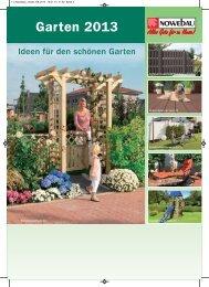 Garten 2013