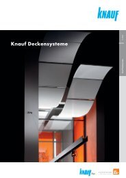 Knauf Deckensysteme - Knauf AG