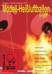 Ausgabe 8 - Oktober / November 2007 - MODELLBALLON.INFO ...