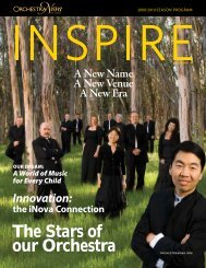 The Stars of our Orchestra - Orchestra Nova San Diego