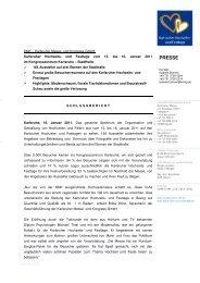 [PDF] Pressemitteilung: Karlsruher Hochzeits- und Festtage vom 15