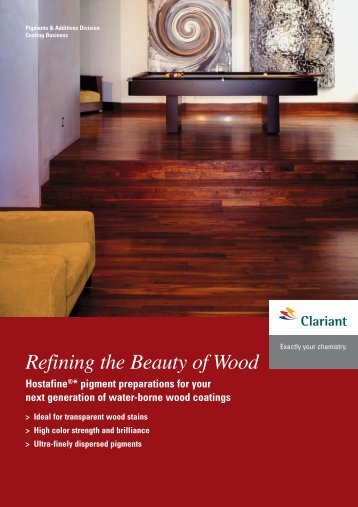 Refining the Beauty of Wood