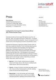 InterstoffAsiaAutumn-1202-e (PDF) - Messe Frankfurt