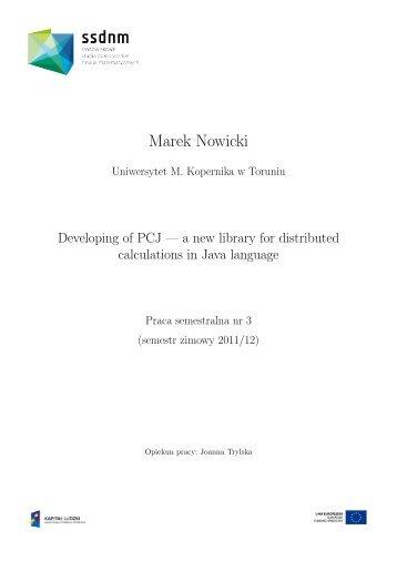 Marek Nowicki - ssdnm