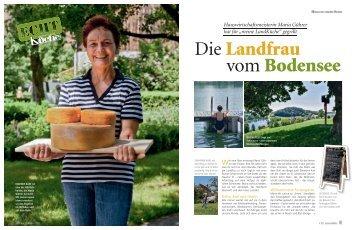 Hauswirtschaftsmeisterin Maria Gührer Hat Für U201emeine LandKüche .