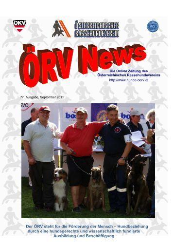 ÖRV News - September 2011