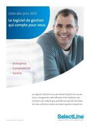 Liste des prix 2012 Le logiciel de gestion qui compte pour ... - IOWare