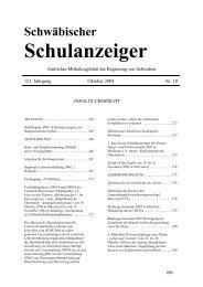 Schwäbischer - Regierung von Schwaben - Bayern
