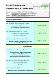 Newsletter 2. egb-Fachkongress 28-02-2013 - Elektro-Innung Berlin
