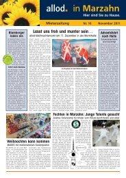 Ausgabe 16 November 2011