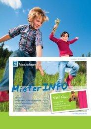 MieterINFO - Wohnungsgenossenschaft Marzahner Tor eG