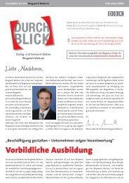 Liebe Nachbarn, - RAG Deutsche Steinkohle