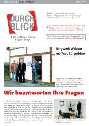 Wir beantworten Ihre Fragen - RAG Deutsche Steinkohle