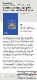 Martin Meidenbauer - des Zentrums für Gartenkunst und ...