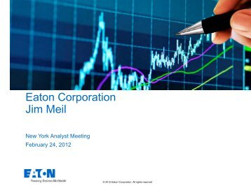 Eaton Corporation Jim Meil
