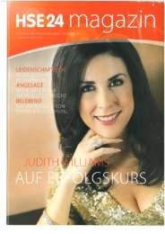 Februar 2010: HSE24 Magazin - Judith Williams