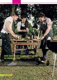 Drei junge Küchenchefs starten durch - Storyline