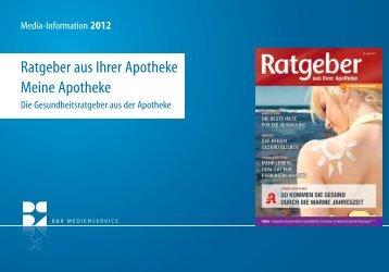Ratgeber aus Ihrer Apotheke Meine Apotheke - Gebr. Storck Verlag
