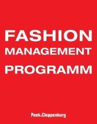 Fashion_Management_Programm - Peek & Cloppenburg KG