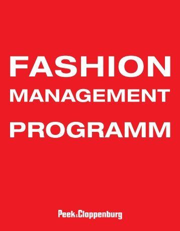 Fashion_Management_Programm - Karriere - Peek & Cloppenburg