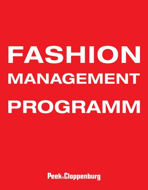 Fashion_Management_Programm - Karriere - Peek & Cloppenburg