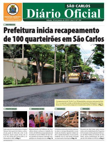 30 - Prefeitura Municipal de São Carlos