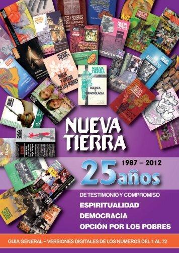 Guía general 1987-2011 - Centro Nueva Tierra