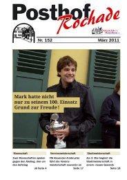 Mark hatte nicht nur zu seinem 100. Einsatz - Schachclub ...