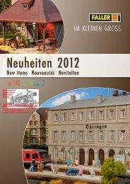 Faller Neuheiten 2012 - Modellbahnstation