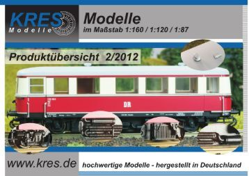 Katalog 2012 - Modellbahnstation