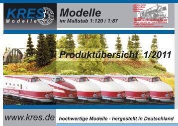 Katalog 2011 - Modellbahnstation