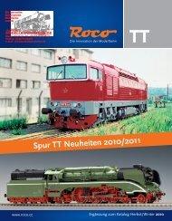 Spur TT Neuheiten 2010/2011