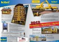 kibri Neuheiten Herbst 2012 - Viessmann Modellspielwaren GmbH