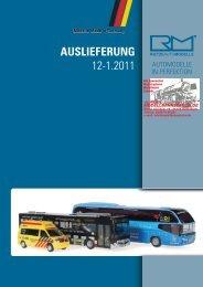 AUSLIEFERUNG 12-1.2011 - Modellbahnstation